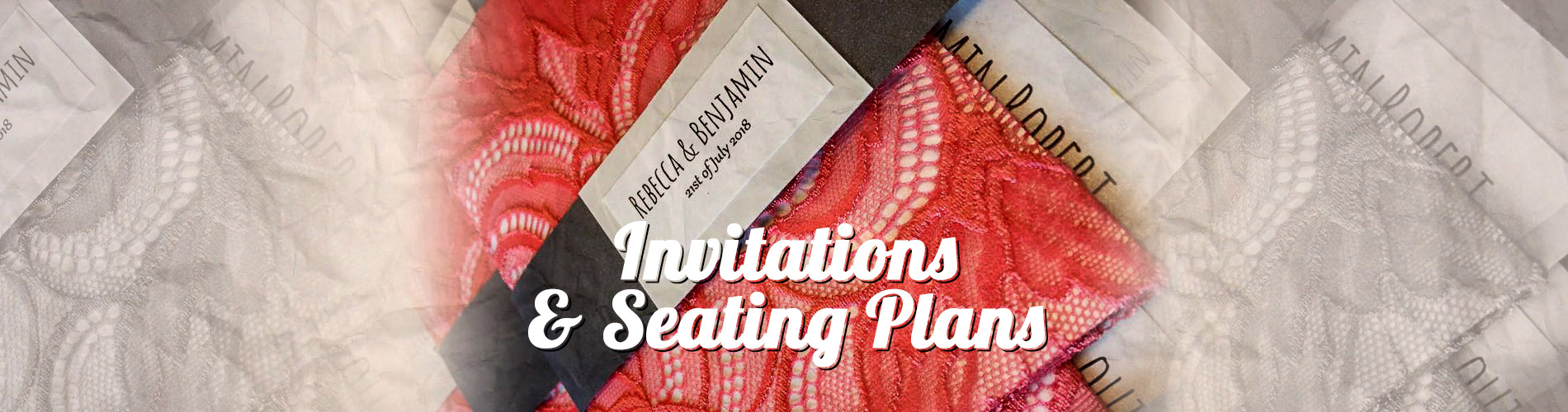 Invitations & Seating Plans